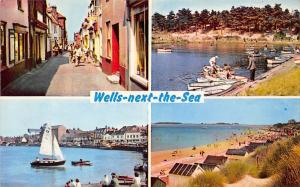 Wells next the Sea, Staithe Street The Harbour Beach Abraham's Bosom Boating