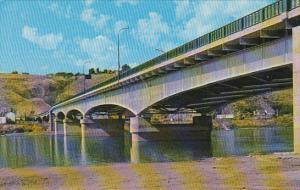 Canada Bridge Across Thompson River Kamloops British Columbia