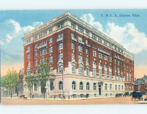 Unused Divided-Back BUILDING Dayton Ohio OH ho0183