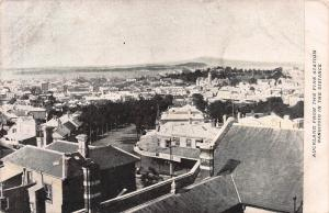 Auckland, New Zealand View From the Fire Station, early postcard, Used