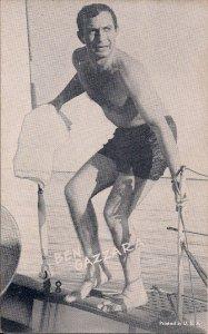 ARCADE CARD, Ben Gazzara, Actor, Swimsuit, Shirtless, Gay Interest (?) 1950-60s