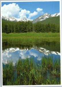postcard CO Rocky Mountain National Park Never Summer Range