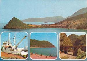 4Views, Souvenir De La Corniche Djidjelienne, Boat, Bridge, Algeria, Africa, ...
