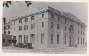 REGINA , Saskatchewan , Canada , 1910-20s ; Union Depot