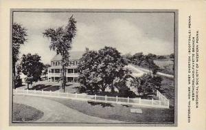 Pennsylvania Scottdale Historical House West Overton Artvue