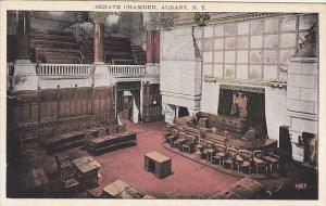 New York Albany Senate Chamber State Capitol Building 1936
