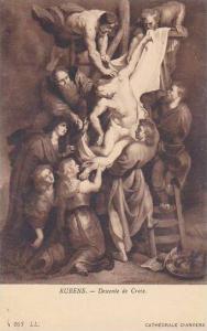 Rubens Descente de Croix Cathedrale D'Anvers