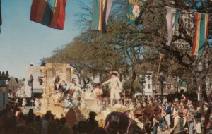 MOBILE, Alabama, 1950-60s ; Mardi Gras , King's Float