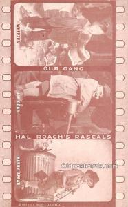 Our Gang, Hal Roach's Rascals Movie Star Actor Actress Film Star Postcar...