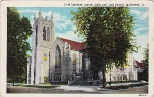First Christian Church Sixth And Cook Streets Springfield Illinois