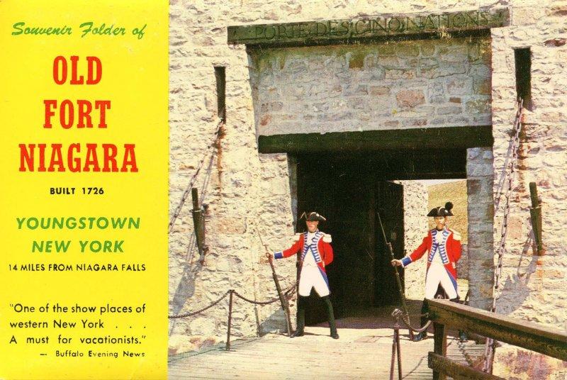 Folder - NY. Old Fort Niagara   16 views + narrative