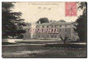 Old Postcard Chateau de Vaussieux Around Bayeux