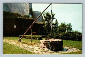 Grand Pre NS- Nova Scotia, Evangeline's Well, Scenic Spot, Chrome Postcard
