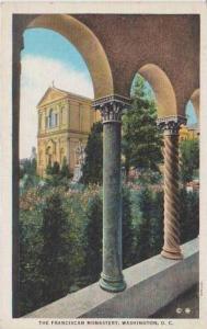 Rosary Portico Arches, The Franciscan Monastery, Washington DC 1937