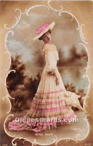 Reutlinger Photography Post Card Reutlinger Photography Post Card Mitzi Dalti