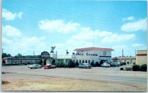 Grenada, MS Postcard MONTE CRISTO MOTOR COURT & Restaurant Roadside 1960s Unused