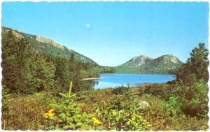The Bubbles, Jordan Pond, Mt. Desert Island, Maine, ME, Chrome