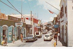 St Thomas Charlotte Amalie Main Street Shopping Distrist 1972 sk3354