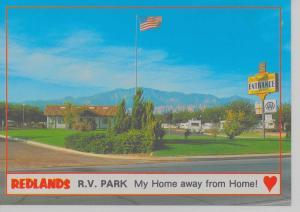 Washington Utah scenic view Redlands RV Park vintage PC Z10920