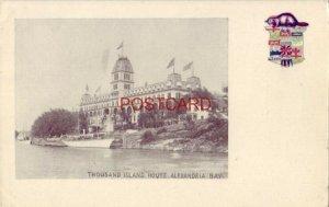 pre-1907 THOUSAND ISLAND HOUSE, ALEXANDRIA BAY, CANADA