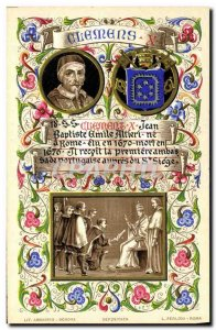 Old Postcard Pope Clement X