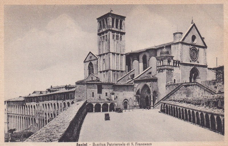 ASSISI, Umbria, Italy, 1900-1910s; Basilica Patriarcale Di S. Francesco
