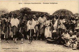 CPA AK Fortier 222, Afrique Occidentale- Danses indigénes, SENEGAL (761995)