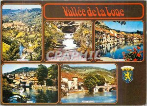 Modern Postcard Valley of the Loue