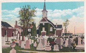 PHILADELPHIA, Pennsylvania, 1900-10s; Old Swedes Church