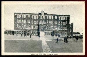 dc1111 - KENOGAMI Quebec 1920s Ecole du Sacre Coeur by Chabot