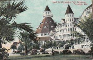 CORONADO , California , 00-10s ; Hotel del Coronado