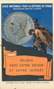 Belgium Ligue Nationale Pour La Defense Du Franc  06.08