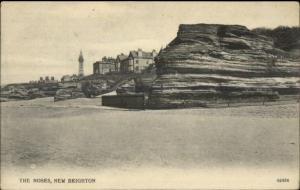 New Brighton UK The Noses c1910 Postcard - Lighthouse?