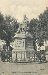 Belgium bruxelles statue de van helmont Postcard