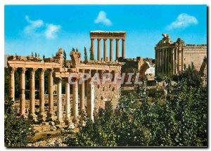 Postcard Modern Lebanon Walk Roman Ruins