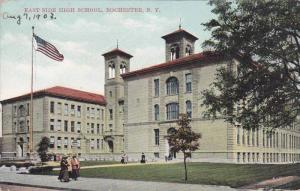 Exterior,  East Side High School,  Rochester,   New York,   PU_ 00-10s