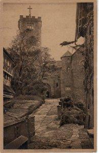 VIEW of the historic castle Wartburg near Eisenach - 1910s era