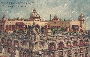 DISTRITO FEDERAL, Mexico, PU-1942; Hotel Ontario, Roof Garden