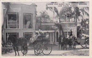 Florida Lake Wales Horse &  Buggy Days Chalet Suzanne Restaurant