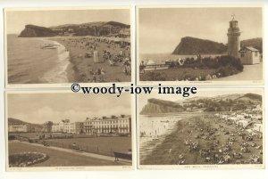 tp9417 - Devon - Four Cards of Coastal Views, of Teignmouth - postcard - Tuck's