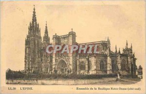 Old Postcard The thorn entire Notre Dame South coast