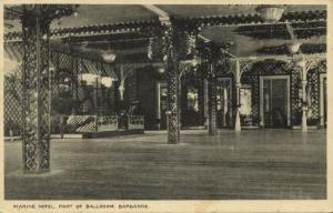 Barbados, Marine Hotel, Part of the Ballroom (1920s)
