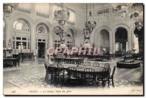 Old Postcard Vichi Casino Games Fair