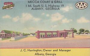 Mecca Court & Grill, Albany, Georgia, PU-30-40s