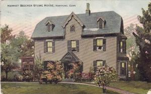 Harriet Beecher Stowe House Hartford Connecticut 1911