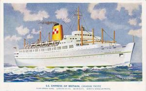 S.S Empress of Britain, Canadian Pacific, C.A. Garman, 30-40s