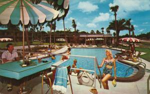Thunderbird Motor Hotel , Arlington Station , Jacksonville , Florida , 50-60s