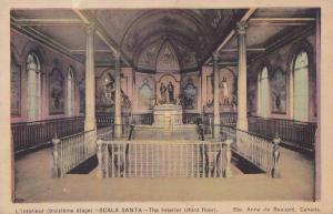 L'interieur (troisieme etage) SCALA SANTA, The interior (third floor), Ste. A...