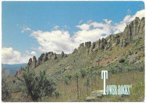 US  Unused. Tower Rocks, Idaho. Beautiful.