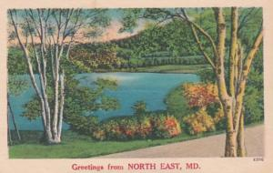 Maryland Greetings From North East